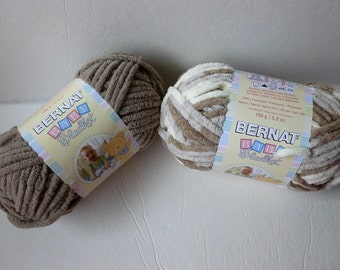 Yarn Sale  - Sand  Baby, Little Sand Castles  Baby Blanket by Bernat