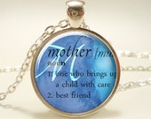 Personalized Word Necklace, Custom Dictionary Definition Jewelry, Gifts For Her (1968S1IN)