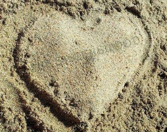 HEART in the SAND Automatic Digital Download Photography