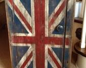 Union Jack Cedar Cabinet