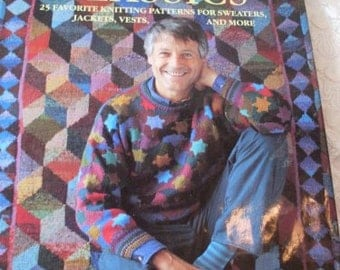 Primitive Folkart Book on Knitting by Kaffee Fassett Italy Beaconhillcollect  We Ship Internationally