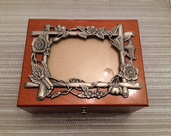 Wooden Antique Jewelry Box