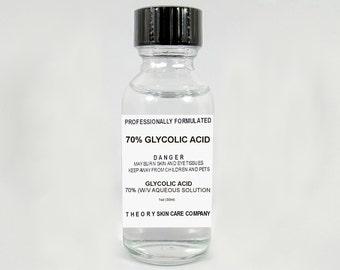 Glycolic Acid Peel 70% Solution,Anti Aging, Wrinkles,Sun Spots