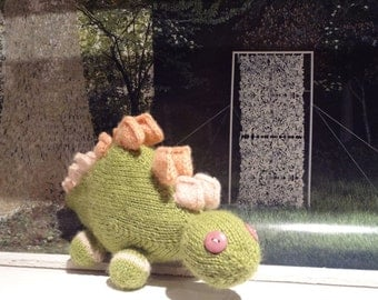 BABY DINOSAUR hand knitted plush toy