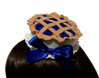Sweet Blueberry Pie Hat or Headband - Made to Order