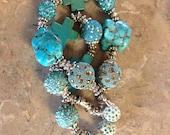 Custon Turquoise Bracelet