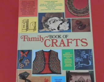 Family Book of Crafts Retro Crafts Book Club Hardcover