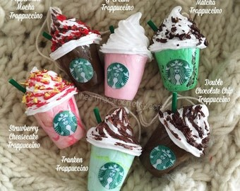 Starbucks Frappuccino Ornaments