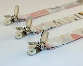 Pacifier Clip - Eloise Renouf's Shape of Spring collection - Line Up in Petal Pink