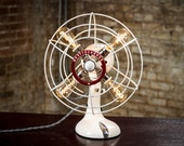 Fan Lamp | Westinghouse | Table Lamp | Desk Lamp | Nightlight | Bed light | Vintage Fan | Lamp | Steampunk lamp | Steampunk | Small Fan