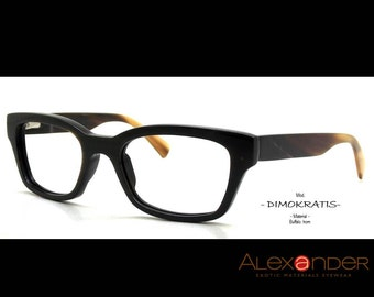Eyeglasses handcrafted Eyewear by the finest quality Buffalo horn 2015