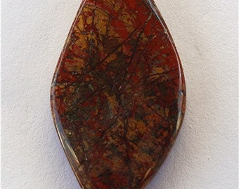 Rooster Tail Agate Cabochon