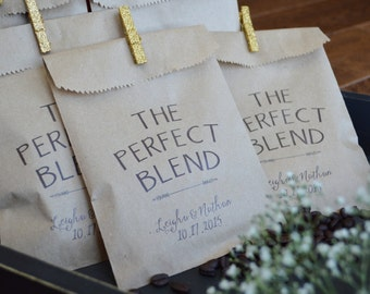 Voor coffee wedding favor shop je op Etsy