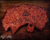Ouija Board Charmed replica - wicca exorcism witch magic - BIG 15,7x23,6 inches