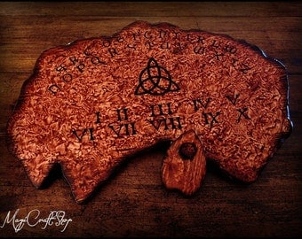 DISCOUNTED Ouija Board Charmed - wicca exorcism witch magic - BIG 15,7x23,6 inches