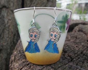 Elsa Inspired Earrings