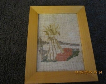 Signs of Fall Cross Stitch Picture