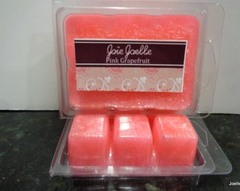 Pink  Grapefruit  Palm Wax Candle Melts Tarts