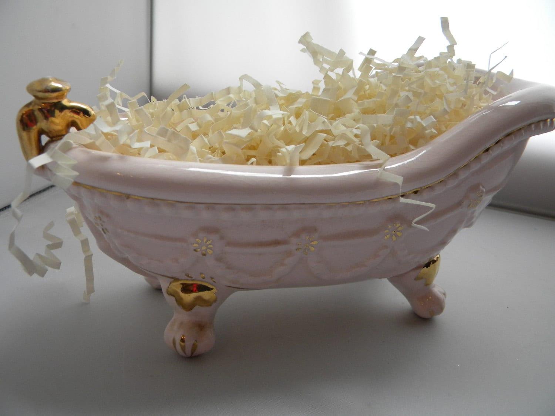 Cermanic Clawfoot Tub Soap Dish