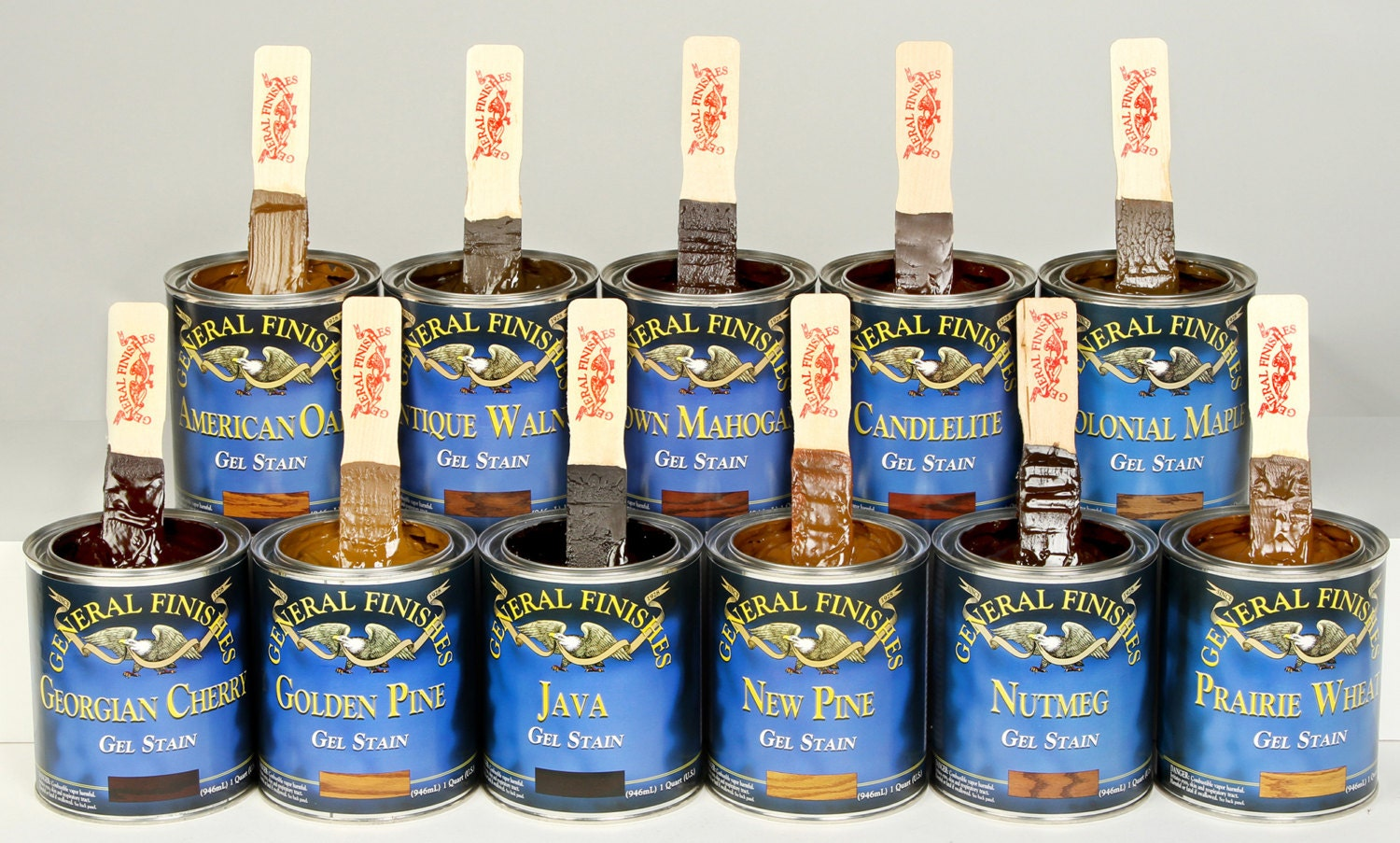 General Finishes Gel Stain Java Gel Stain Antique