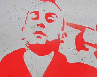 Taxi driver stencil, de niro stencil, art , décor stencil, paint, ideal stencils