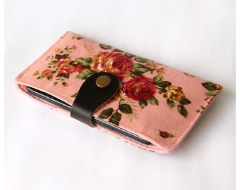 IPhone 6s Case, iPhone 6 Sleeve, iPhone 6 Plus Case, iPhone 6 Plus Sleeve, iPhone Wallet Case, Padded Phone Case - Vintage Flowers