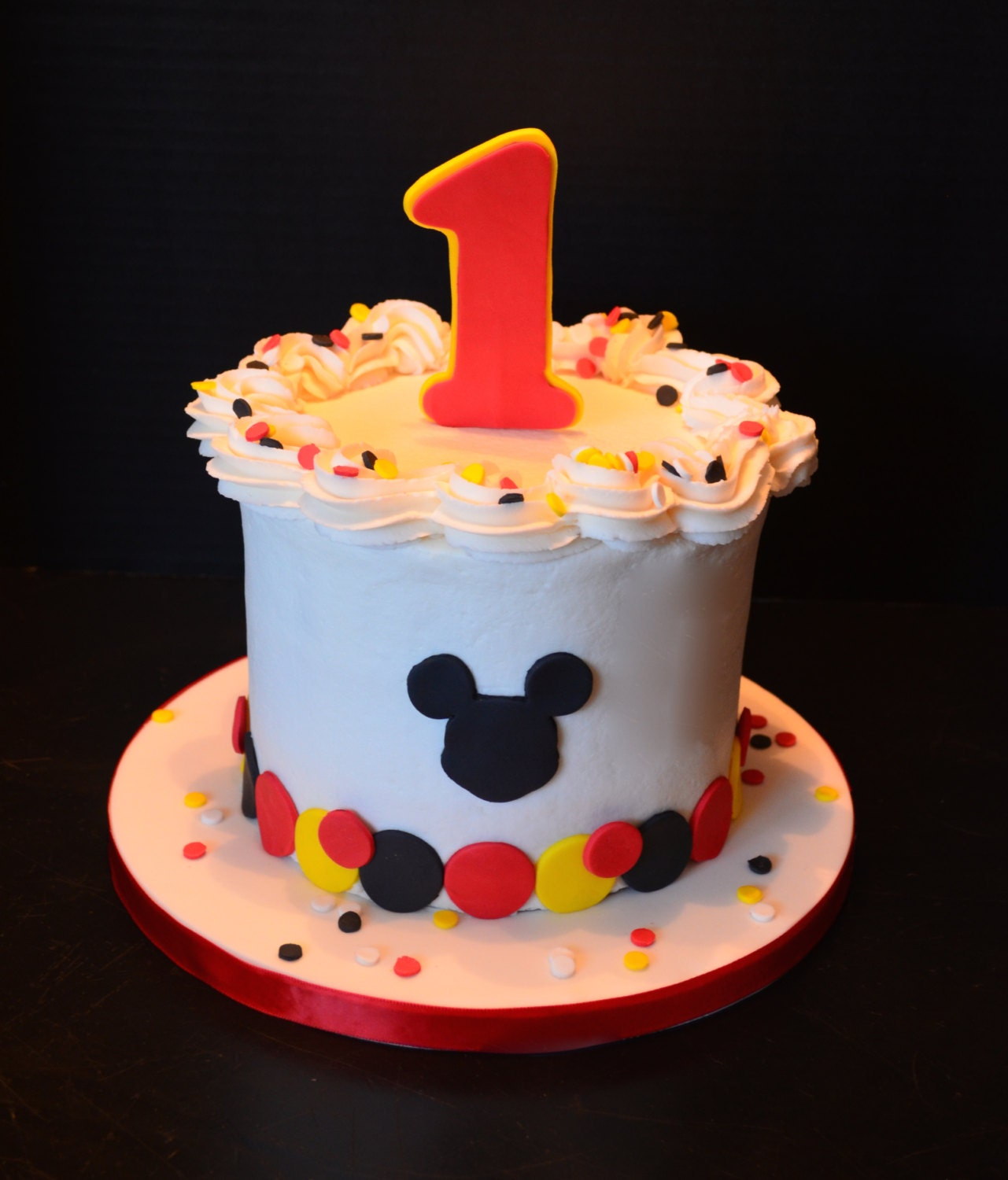 Mickey Mouse Smash Cake: Mickey Smash Cake Kit For 6 Inch Cake