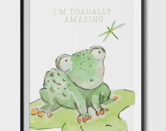 I'm Toadally Amazing Poster