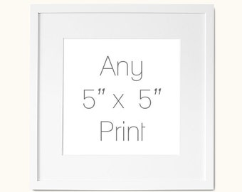 any 5x5 inch art print stocking stuffer gifts under 15 dollars under 20 square wall art prints fits ikea frame