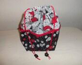 Medium Knitting Project bag