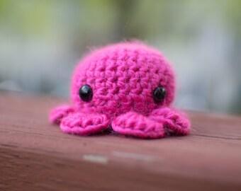 Pink Octopus Amigurumi