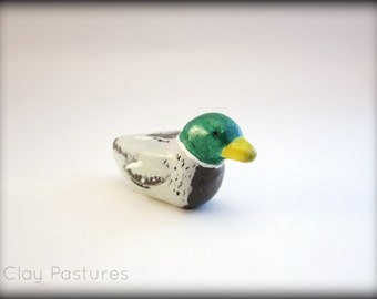 Mallard Duck Totem