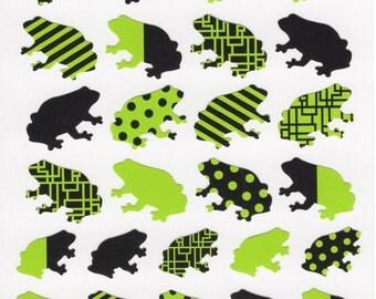 Japan Mind Wave FROGS sticker sheet/JOY75141