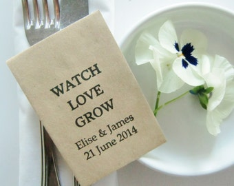 Rustic Wedding Favors Etsy
