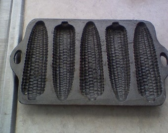 Cast Iron Corn bread baker, wide or thin available