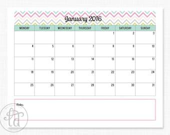 2015-2016 Printable Calendar