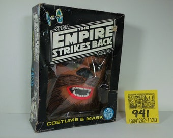 1970's  Ben Cooper StarWars Halloween costume-Chewbacca