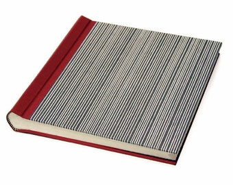 "Photo Album / Guest Book ""Stripes"""