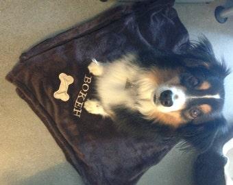Pet Blanket and Doggie bag
