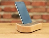 iPhone 6 Docking station Recycled Wood iPhone 6 Holder Wooden iPhone 6 stand