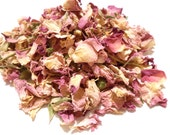 PINK ROSE Petals, Organic - Heavenly and Aromatic - Use in Potpourri and Tea