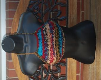 Tribal Hippie Crochet  Festival Top