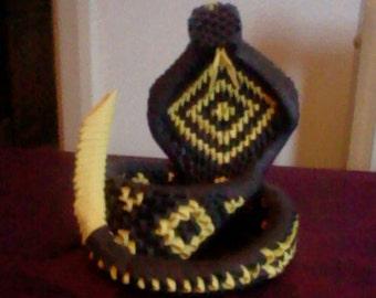 Modular Origami Cobra