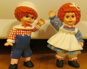 Pr Raggedy Ann Raggedy Andy Figurines Raggedy Ann Dolls Raggedy Ann Cake Toppers Miniature Raggedy Ann Dolls Raggedy Andy Doll