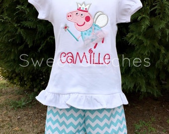 Peppa Pig Fairy outfit