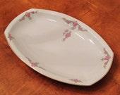 "H&C Heinrich ""Rosalinda"" Bavarian Rectangular Serving Platter"