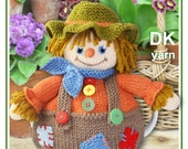 scarecrow knitting pattern tea cosy teacozy cozy cosies PDF email