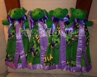 Hulk Large Lovey for Children MADE TO ORDER