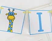 FREE SHIPPING, I am 1 Birthday banner, I am One Garland, 1st Birthday sign, Birthday decoration, Birthday photo prop, Cake smash banner,Blue