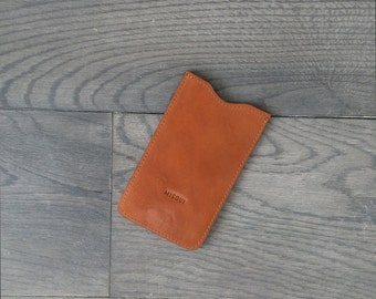 Honey leather iPhone 6 case, leather phone case